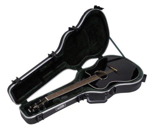 SKB 1SKB-30 Thin-Line AE/klassische Gitarre Hartschale (TSA-Verschluss, überzogener Handgriff)