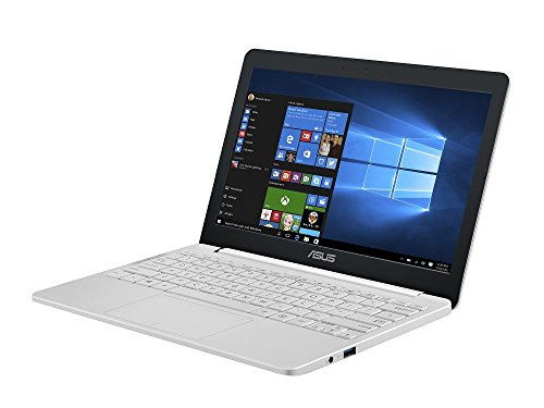 "ASUS VivoBook E203NA ノートPC(パールホワイト/11.6""(1366x768)/N3350/2.4GHz/2MB/4G/64G EMMC/802.11ac/BT4.1/Win10 Home 64B)"