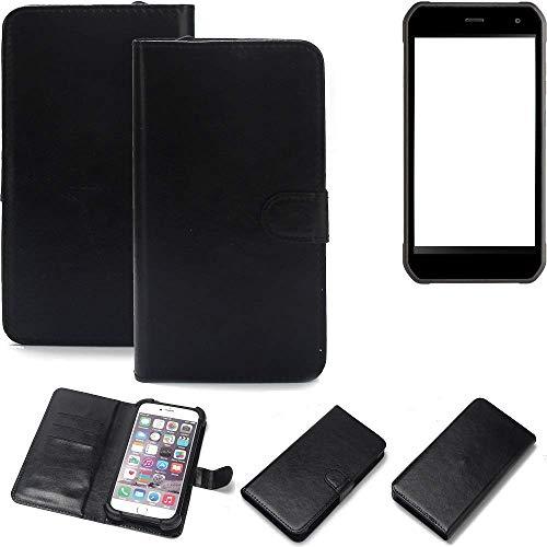 K-S-Trade® Handy Schutz Hülle Für Cyrus CS 40 Schutzhülle Bumper Schwarz 1x