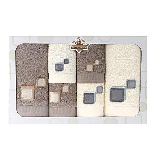Westward Ho! 1136LB Sitio - Towel (6 piezas, 1 unidad), color marrón