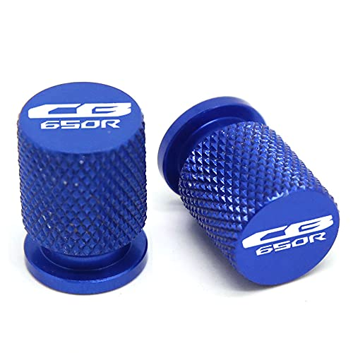 Válvula de neumático de la Motocicleta Puerto de Aire Puerto de vástago Tapa tapón CNC Accesorios de Aluminio CNC para Honda CB650R CBR650R CBR 650R CB 650R Universal Accesorios