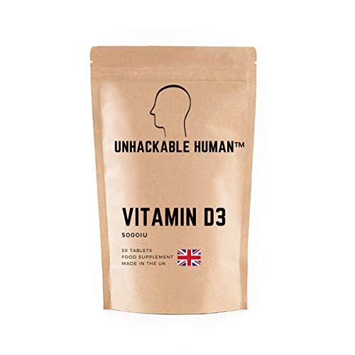 Vitamin D3 5000iu - Unhackable Human