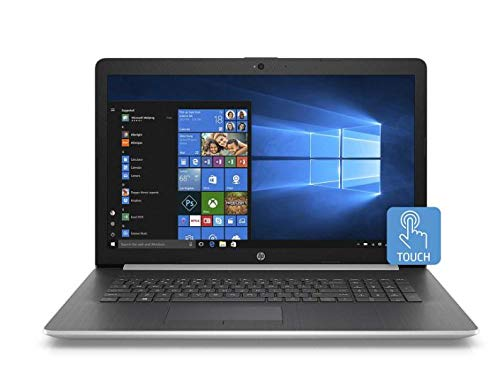 """HP 17.3"""" HD+ Touchscreen Laptop, Intel Core i5-8265U Processor, 8GB Memory, 256GB SSD, Optical Drive, 2 Year Warranty Care Pack with Accidental Damage Protection"""