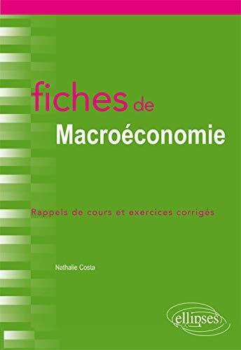 Fiches de Macroéconomie PDF Books