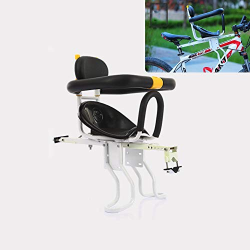 Baby Front Fiets Stoel Gemonteerd Kinderfiets Stoel Babies Bike Seat Veiligheid En Comfortabel Ontworpen En Getest voor Kinderen Van 8 Maanden Tot 6 Jaar Oud