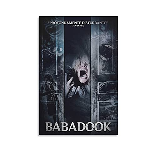 Hadahi YAMdb The Babadook Poster Decorative Painting Canvas Wall Art Living Room Posters Bedroom Painting 16×24inch(40×60cm)