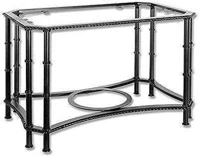 Huahua Furniture Mesa de Centro, Mesa Lateral de Hierro Fin Mesa ...