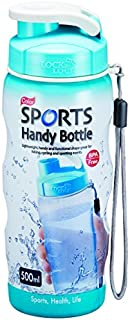 Lock & Lock Bpa Free Sports Handy Bottle Blue - 500 ml
