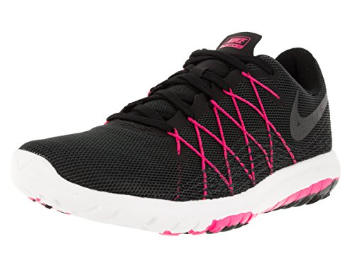Nike Women's Flex Fury 2 Running Shoe Black/Hyper Pink/Anthracite/Hematite Size 6.5 M US