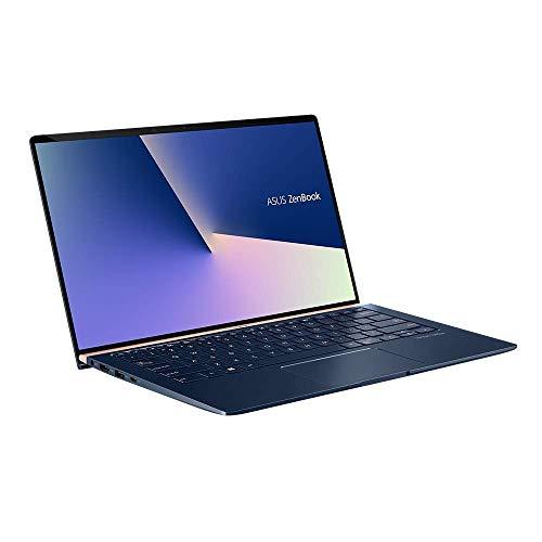 ASUS ZenBook 14 UX433FN (90NB0JQ2-M04820) 35,5 cm (14 Zoll, FHD, WV) Ultrabook (Intel Core i7-8565U, 16GB RAM, 512GB SSD, NVIDIA GeForce MX150 (2GB), Windows 10) Royal Blau (Generalüberholt)