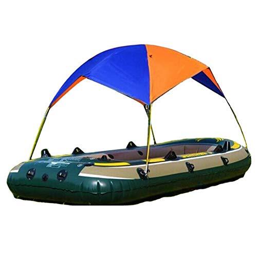 DSFSAEG Sombrilla inflable del barco, refugio de la sombra del barco, impermeable pesca de la playa Surf plegable inflable Kayak Sun Shade refugio toldo parasol
