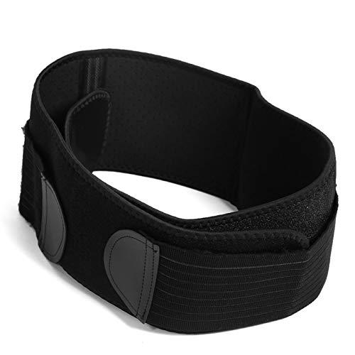 SALUTUYA Gancho y Bucle ensanchado de Neopreno Cinturón de Cadera para Pelvis de Tela antipilling(One Size)