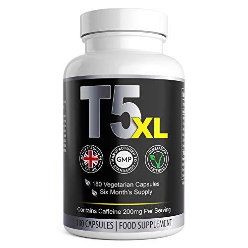T5 XL Fat Burners | Vegetarian Safe T5 Slimming Pills |...