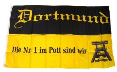 Fahne / Flagge Fußball Dortmund NEU 90 x 150 cm Flaggen