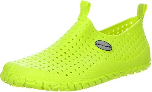 G&G Damen Herren Badeschuhe Schwimmschuhe Sanitized grün, Größe:41, Farbe:Grün