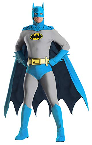 Charades Herren DC Comics Batman Adult Costume Kostüme für Erwachsene, Siehe Abbildung, Large
