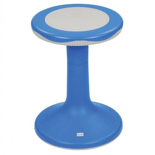 """Kaplan Early Learning Company 18"""" K'Motion Stool - Primary Blue"""
