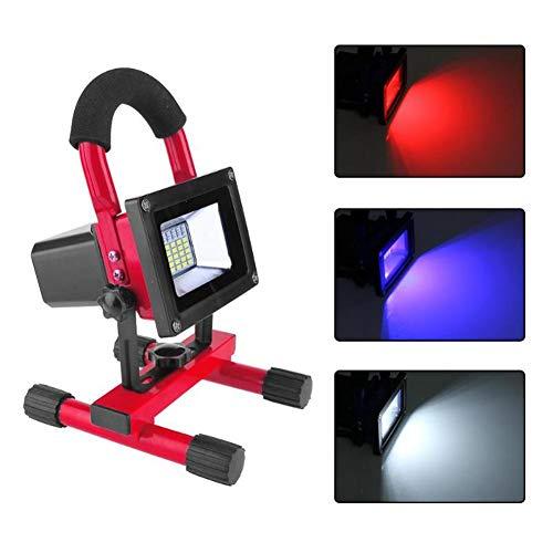 HS-HWH219 60W Hand LED outdoor camping koplamp koplamp projector werklicht draagbare lampen super helder rood