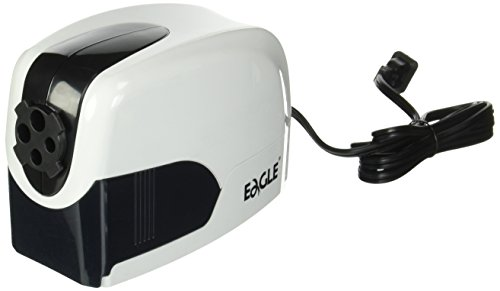 Electric Pencil Sharpener- Heavy Duty, Classroom Quiet, Sharpens 4 Pencil Sizes, Great for School, Home or Office; Kids safe; Automatic, Best; for Colored & Regular Pencils.