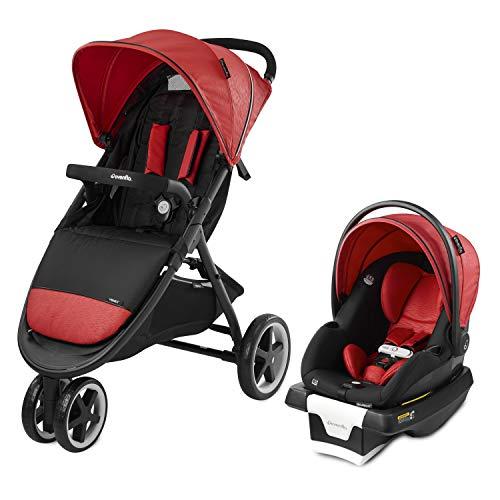 evenflo baby gears Evenflo Gold Verge3 Travel System Securemax Garnet, 53012336, 53012336, 53012336, 53012336