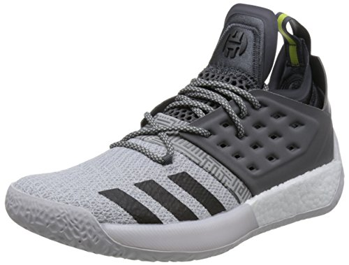 adidas Harden Vol. 2, Herren Basketballschuhe, Grau (Grefiv/Trgrme/Grefou Grefiv/Trgrme/Grefou), 42 2/3 EU (8.5 UK)