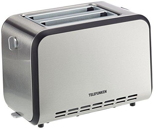 TELEFUNKEN Toaster, Edelstahl, 17 x 31 x 20 cm