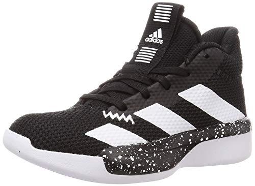 adidas Unisex Pro Next 2019 K buty do koszykówki dla dzieci, czarny - Czarny rdzeń czarny Ftwr biały rdzeń czarny - 38 EU