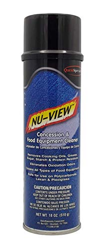 NU-View Concession & Food Equipment Cleaner, 20 oz. can, 1 count