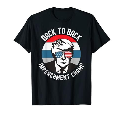 Volver a la espalda Campeón del Campeón 2020 absuelto Camiseta