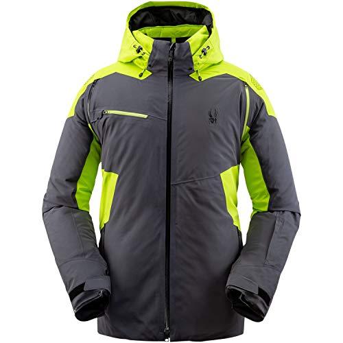 Spyder M Vanqysh GTX Jacket Grau-Grün, Herren Gore-Tex Isolationsjacke, Größe L - Farbe Ebony