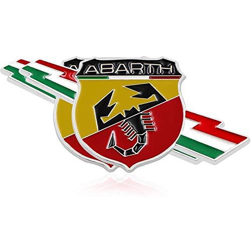 XCBW Etiqueta engomada de la Insignia del Emblema 3D Cromado del Coche...