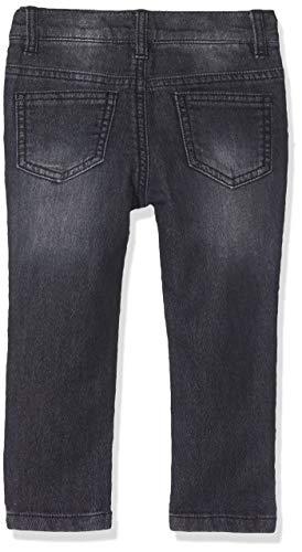 3 Pommes 3p22043 Jean Fleece Jeans, Gris (Gris Moyen 25), 9-12 Meses (Talla del Fabricante: 9/12M) para Bebés