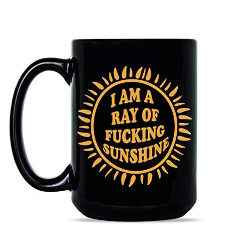 Im a Ray of F cking Sunshine Mug Ray of Fcking Sunshine Coffee Mug
