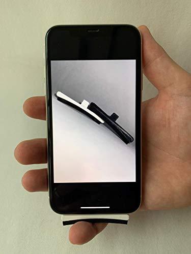 MTO Handy Fingerauflage & Staubschutz - Original Adapter für Samsung & alle gängigen Smartphones mit Micro USB