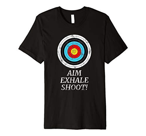 Bogenschießen T-Shirt | Jäger T-Shirt | Zielscheibe Zielen