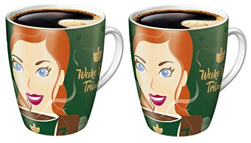 Ritzenhoff Sammelbecher 15. Edition limitiert Jacobs Kaffeebecher Becher Tasse (2er Set)