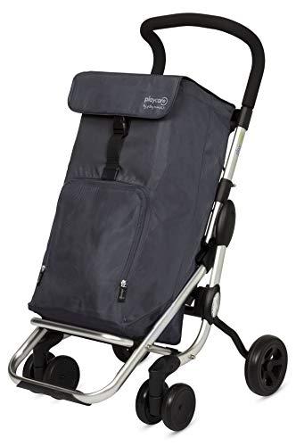 Playmarket Playcare Carro de la compra plegable con ruedas...