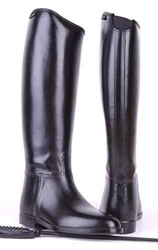 HKM Reitstiefel -Herren Standard- mit Elastikeinsatz, schwarz, 47