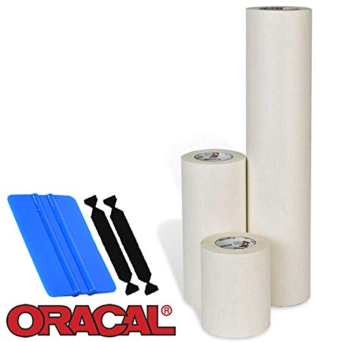 Oracal High Tack Transfer Tape (12' x 300ft w/Tools)
