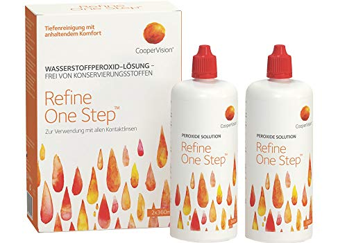CooperVision Refine One Step - Kontaktlinsenzubehör, 1er Pack (1 x 720 ml)