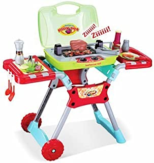 CHIMAERA Deluxe Kitchen BBQ Pretend Play Grill Set w/ Light and Sound