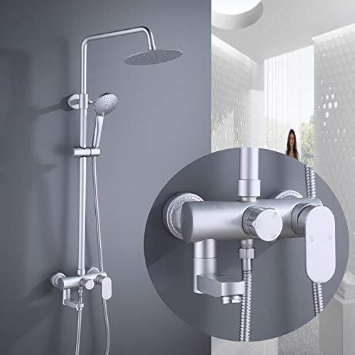 ELENXS 10 Etape Bath Purificateur deau Salle de Bains Filtre Douche Sant/é Adoucisseur High Output Accueil Universal Filtre /à Eau