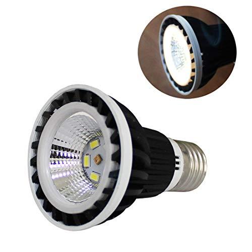 QSLQYB UVB Reptile Light, UVB 5.0 UVB 10.0 Led UVB Reptile Light,Led Reptile Light UVA UVB Lamp for Turtle Bearded Dragon (Black(5.0))