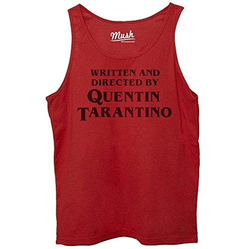 MUSH Canotta Titolo di Coda REGIA Quentin Tarantino - Film by Dress Your Style - Donna-M-Rossa