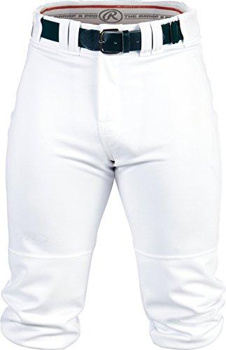 Rawlings Pro 150 Series Game/Practice Baseball Hose, Erwachsene, einfarbig, Höschen, Herren, Weiß, Medium