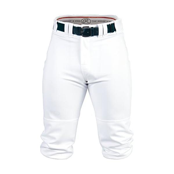 Rawlings Men's Knee-High Pants, Medium, White