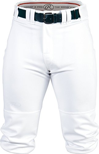 RAWLINGS Men's Knee-High Pants, X-Large, White