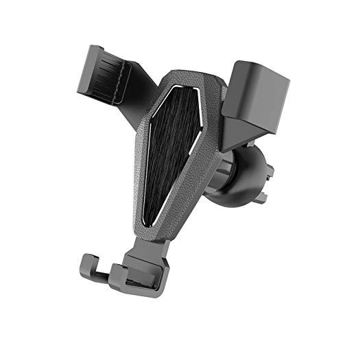 wenhe - Soporte universal para teléfono móvil, soporte de teléfono de coche para ventilación ajustable, soporte de teléfono