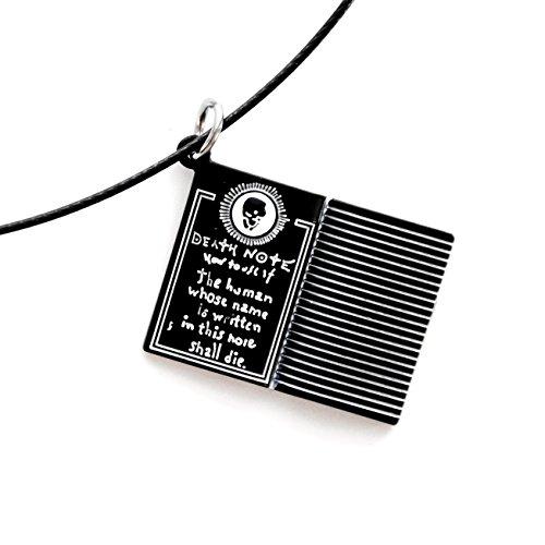 papapanda Notizbuch des Todes Halskette für Death Note Kette