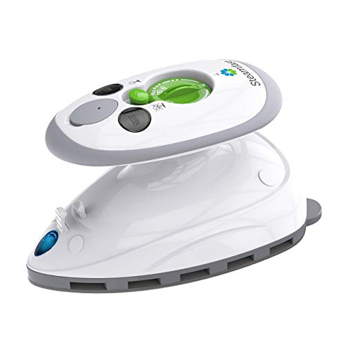 Steamfast Mini Travel Steam Iron with Dual Voltage, 1-Pack, White (Renewed)